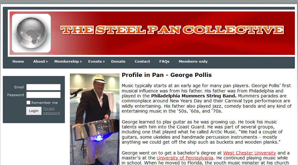 Pan Colletive Article George Pollis Reel Ting