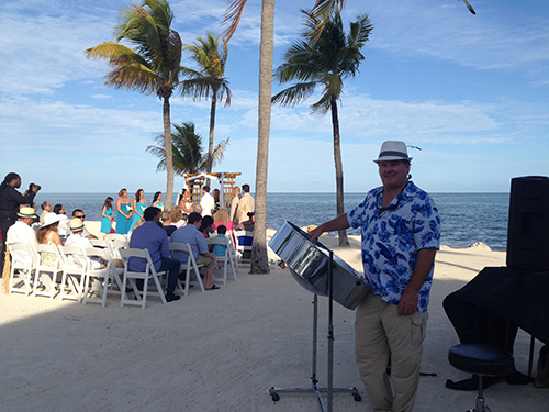 George Pollis at Postcard Inn Islamorada
